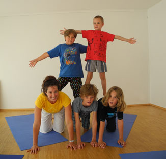 Kids Yoga Villach with Mira Yoga