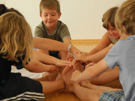 Yoga KIDS COURSES in Villach Austria with Mira Yoga